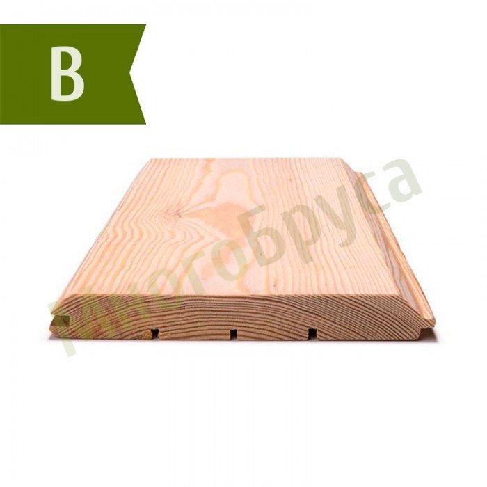 Имитация бруса из лиственницы Класс B